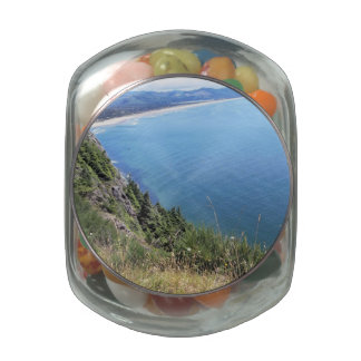 Ocean View on the Oregon Coast Jelly Belly Candy Jars