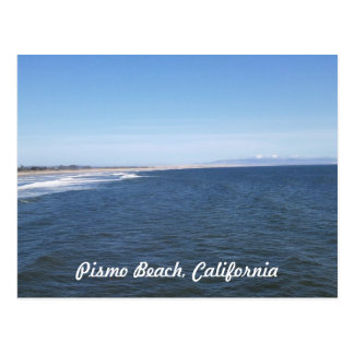 Ocean View Pismo Beach Postcard