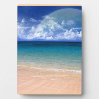 Ocean View Plaque