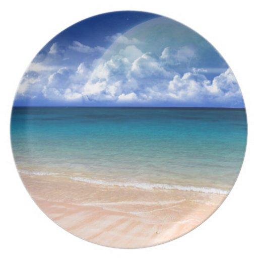 Ocean View Plates