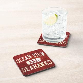 Ocean View Seahawks Athletics Beverage Coaster