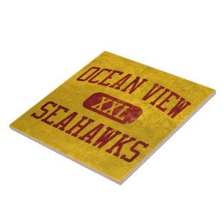 Ocean View Seahawks Athletics Ceramic Tile