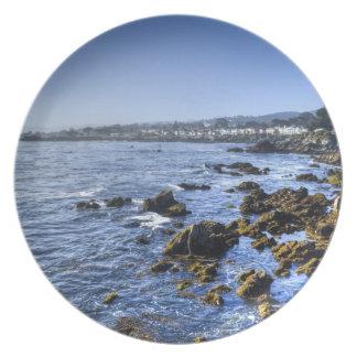 Ocean View Seascape Dinner Plate