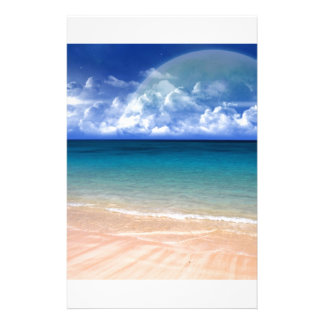 Ocean View Stationery Design