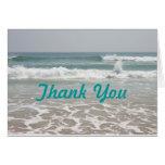 Ocean View Thank You Card