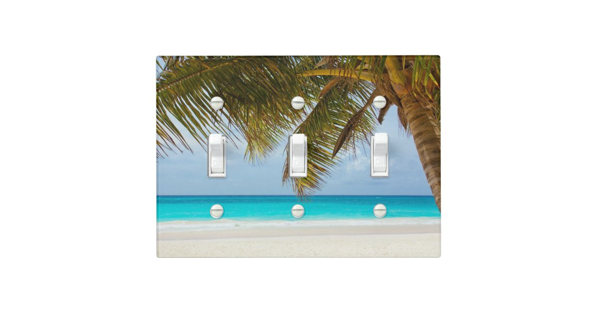 Palm Tree Light Switch Cover