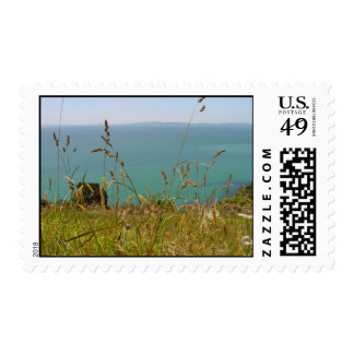 Ocean Vista Postage Stamps