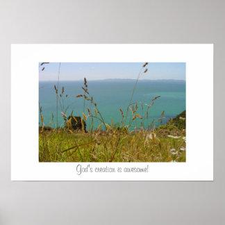 Ocean Vista Poster