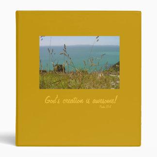 Ocean Vista - Psalm 104 Binder