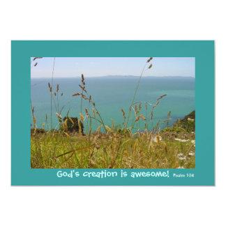 Ocean Vista - Psalm 104 Card