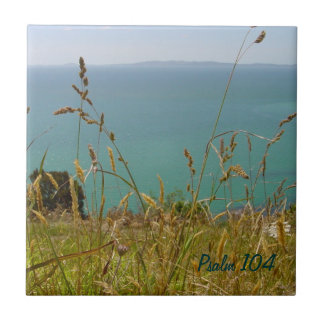 Ocean Vista - Psalm 104 Ceramic Tile