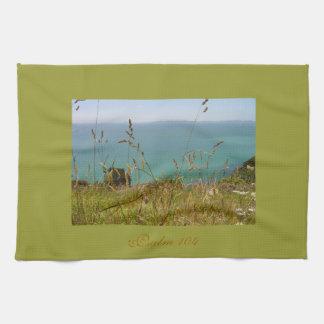 Ocean Vista - Psalm 104 Kitchen Towel
