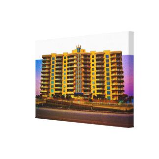 Ocean Vistas Beach Condominiums Art II Canvas Print