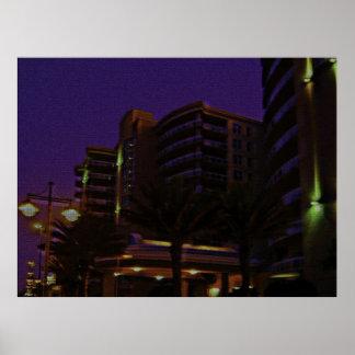 Ocean Vistas Tropical Landscape & Architecture 3 Poster
