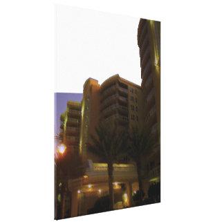 Ocean Vistas Tropical Landscape & Architecture Two Canvas Print