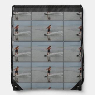 Ocean Wakeboarder Cinch Bags