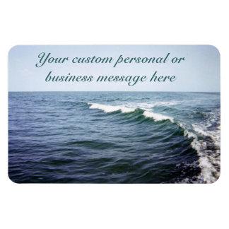 Ocean Water Custom Premium Magnet