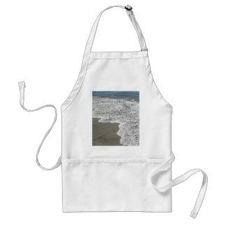 Ocean Water Meet Sand Beach Aprons