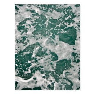 Ocean Water Postcard