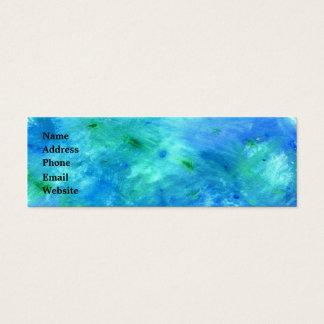 Ocean Watercolor Business Card