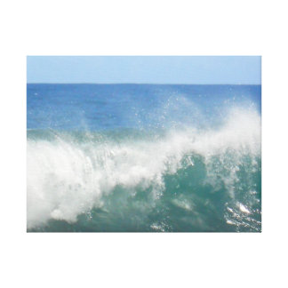 Ocean Wave and Spray Stretched Canvas Prints
