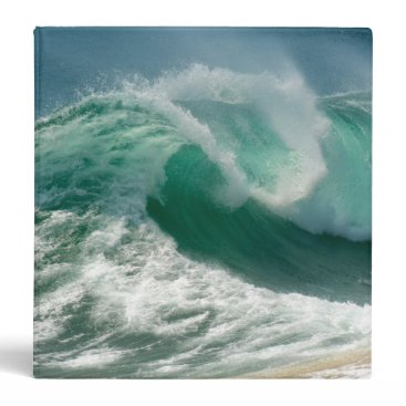 Ocean Themed Ocean Wave Binder
