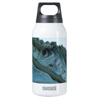 Ocean Wave Building Art Insulated Water Bottle