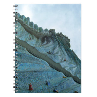 Ocean Wave Building Art Notebook