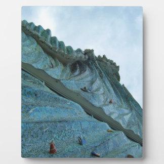 Ocean Wave Building Art Plaque