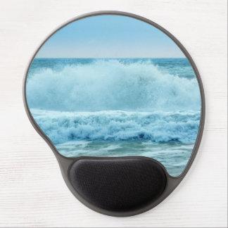 Ocean Wave Crashing Gel Mouse Pad