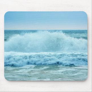 Ocean Wave Crashing Mouse Pads