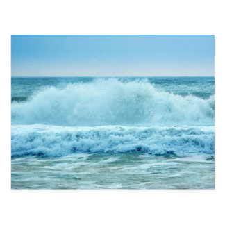 Ocean Wave Crashing Postcard