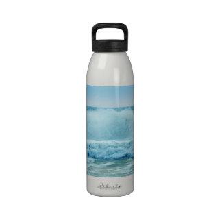 Ocean Wave Crashing Water Bottles
