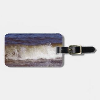 Ocean Wave Luggage Tag