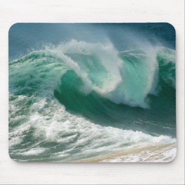 Ocean Themed Ocean Wave Mouse Pad