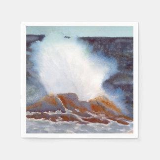 Ocean Wave Napkin