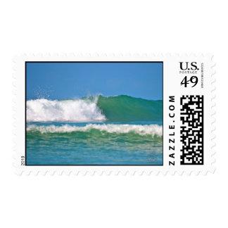 Ocean Wave postage stamp