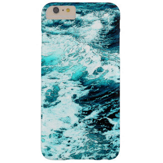 Ocean Wave Sea Foam Water Texture Barely There iPhone 6 Plus Case