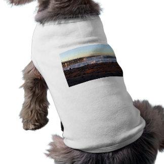 Ocean Wave Storm Pier T-Shirt