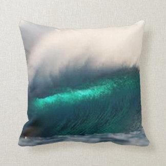 ocean wave - throw pillow