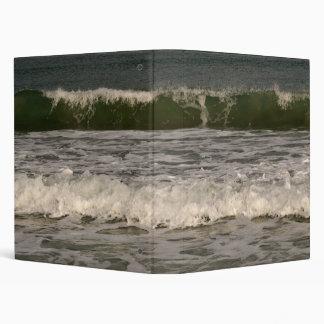 """Ocean Waves 1"""" 3 Ring Binder"""