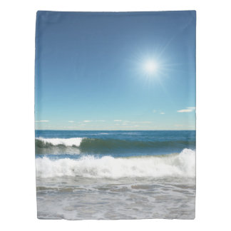 Ocean Waves (2 sides) Twin Duvet Cover