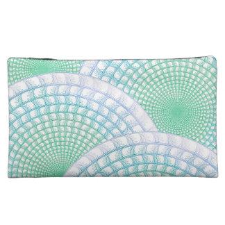 Ocean Waves Abstract Cosmetic Bag