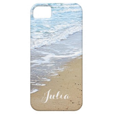 Beach Themed Ocean waves and beach iPhone SE/5/5s case