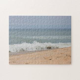 Ocean waves and beach jigsaw puzzle
