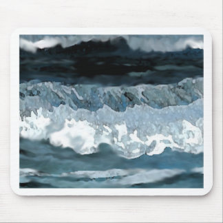 Ocean Waves at Night CricketDiane Seascape Mouse Pads