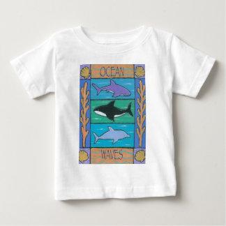ocean waves baby T-Shirt