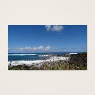 Ocean Waves Beach Hawaii Photography Business Card