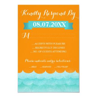 Ocean Waves Beach Response Cards