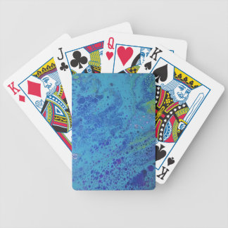Ocean waves bicycle playing cards